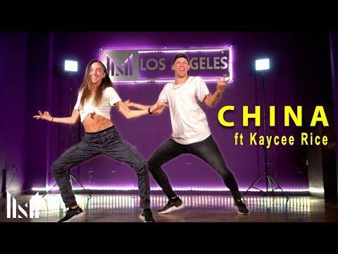 CHINA - Anuel AA, Daddy Yankee, Karol G, Ozuna & J Balvin Dance ft Kaycee Rice