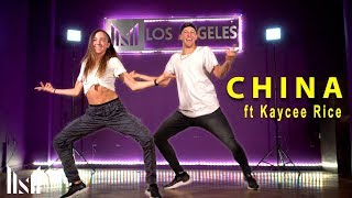 CHINA - Anuel AA, Daddy Yankee, Karol G, Ozuna & J Balvin Dance ft Kaycee Rice