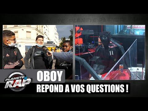 Youtube: OBOY en feat. avec NINHO? Il répond à VOS questions! #PlanèteRap
