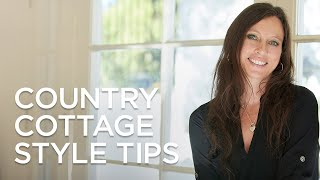 Country Cottage Style Decorating Tips and Ideas from Lamps Plus