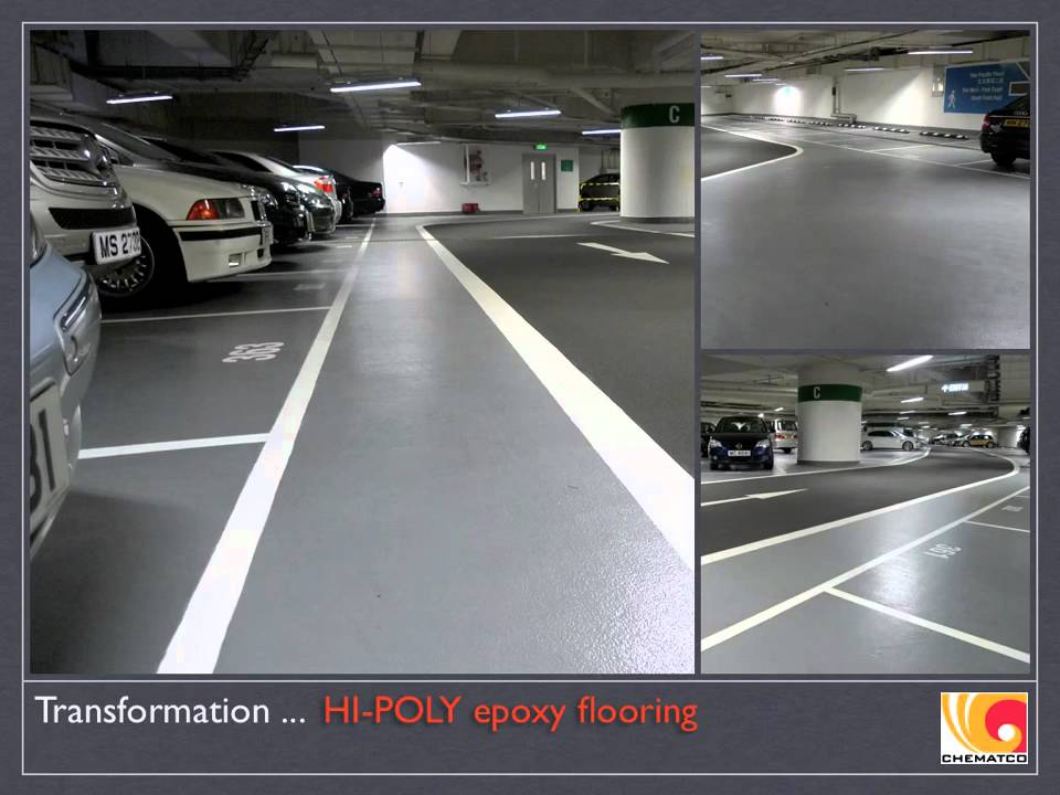 Pacific Place Car Park, Hong Kong, Epoxy Resin Seamless ...