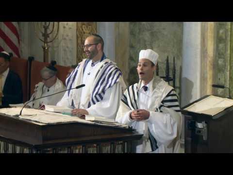 Cantor Azi Schwartz - Ohev Amo Yisrael / Sh'ma - Erev Rosh Hashanah 2015