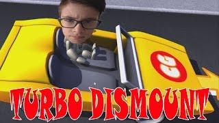 DIT DOET PIJN | Turbo Dismount