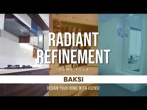 Interior Design for Baksi's new flat in Skylark Esta,Hoodi circle,Bangalore