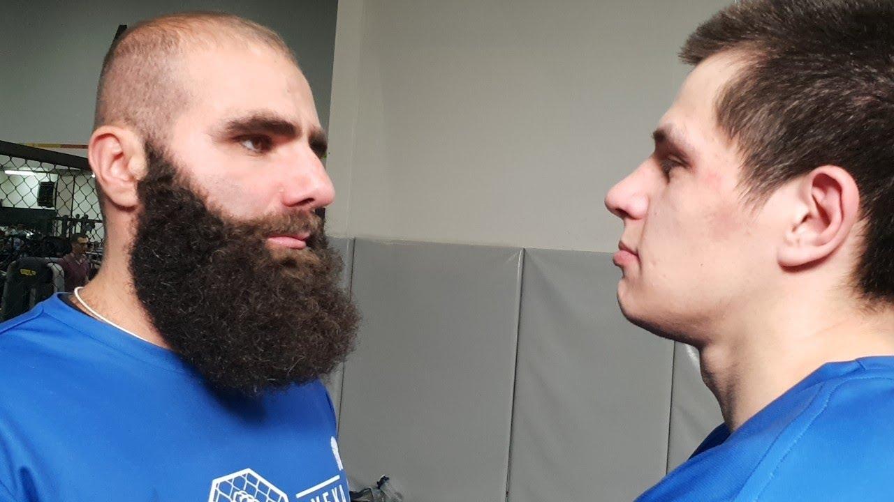 Регбист со стрелки vs Бородач! Мясорубка 2