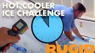 Hot Cooler Ice Challenge - Yeti vs RTIC vs RUGID