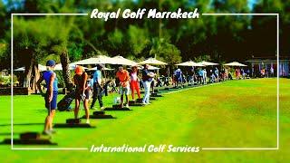 Royal Golf à Marrakech au Maroc