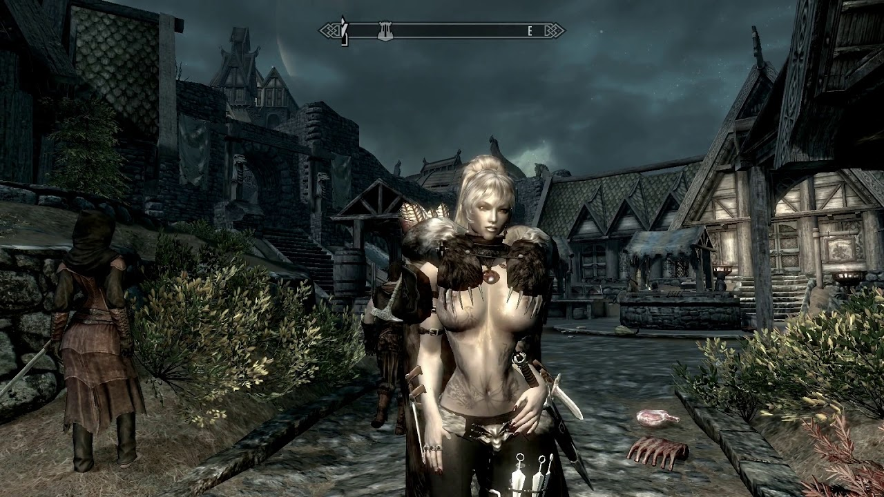 SKYRIM -UNP   made with magick  ( no you can't) LOL by WOLF TOTEM 1
