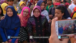 Suroboyo Kota Kuliner 2015 - Festival Kuliner Tunjungan Ajang Foto Bersama Tri Rismaharini