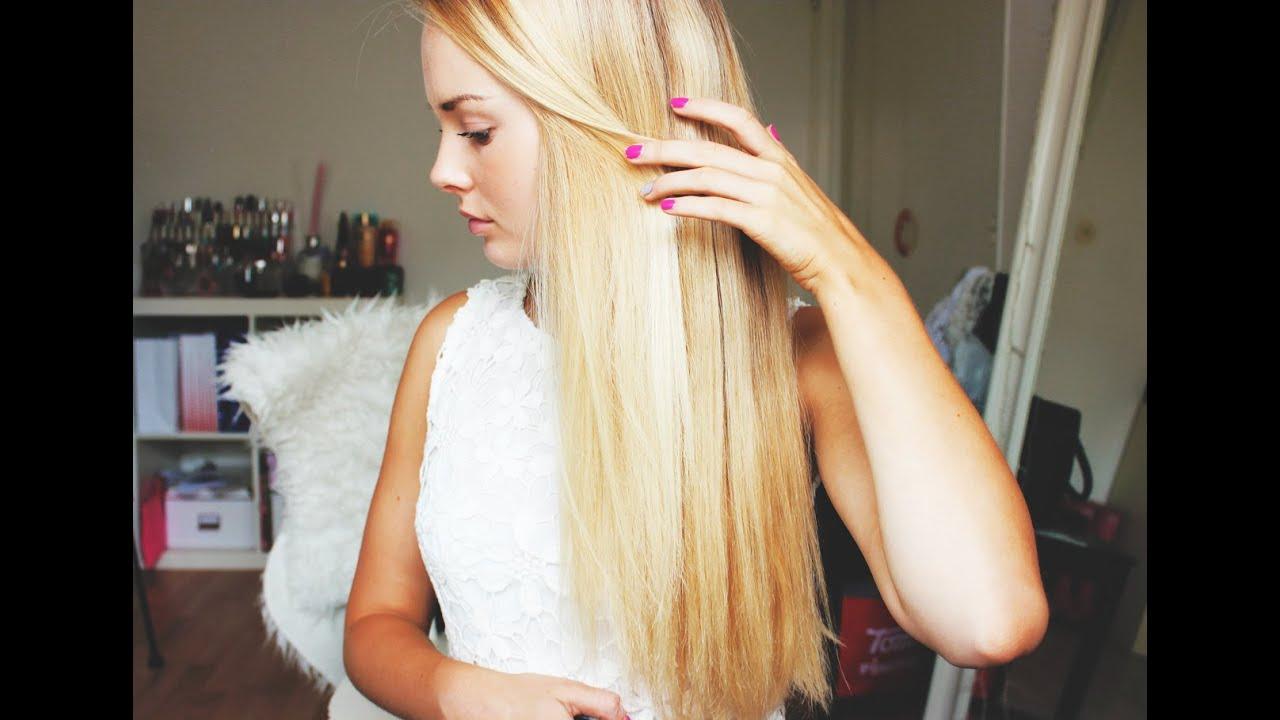 vill ha långt hår