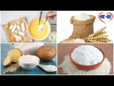 Can i substitute corn flour for potato starch