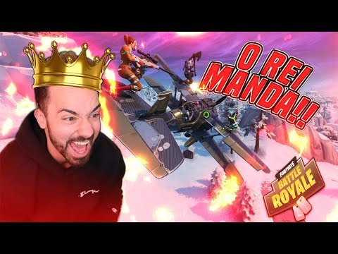 O REI MANDA NO FORTNITE ! SÓ RIR ! #1