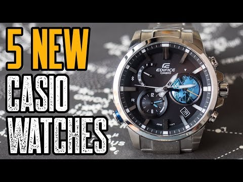TOP 5: NEW CASIO Watches 2019!