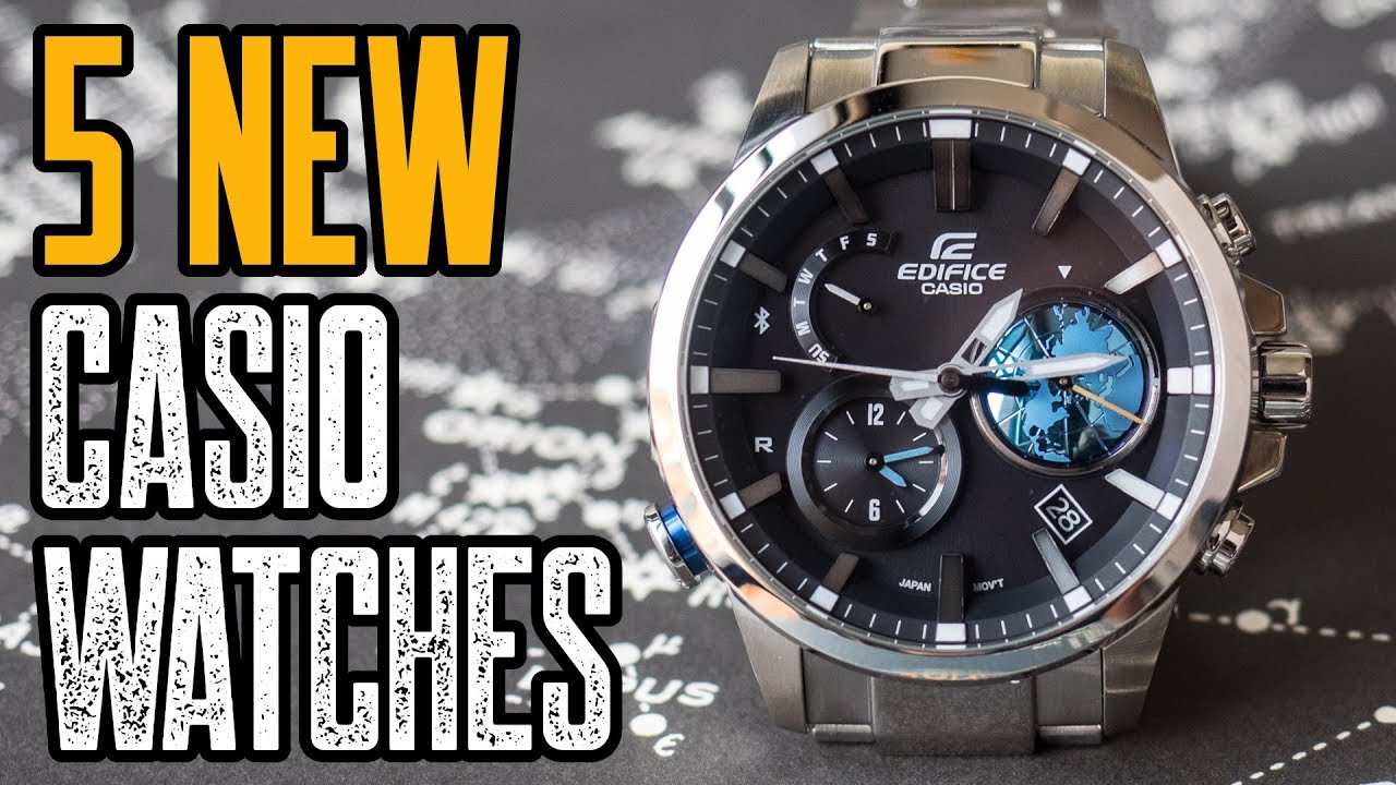 Top 5 New Casio Watches 2019