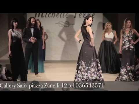 Sfilata di moda MICHELLE FERRE' 2016 con Melita Toniolo