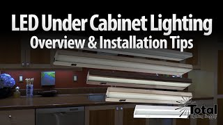 Led Under Cabinet Lighting Overview & Installation Tips By Total Recessed Lighting