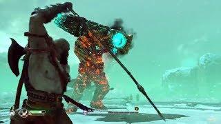 God Of War 4 (2018) Gameplay Walkthrough Kratos VS Bridge Keeper Boss [Playstation 4] ps4 pro  Game