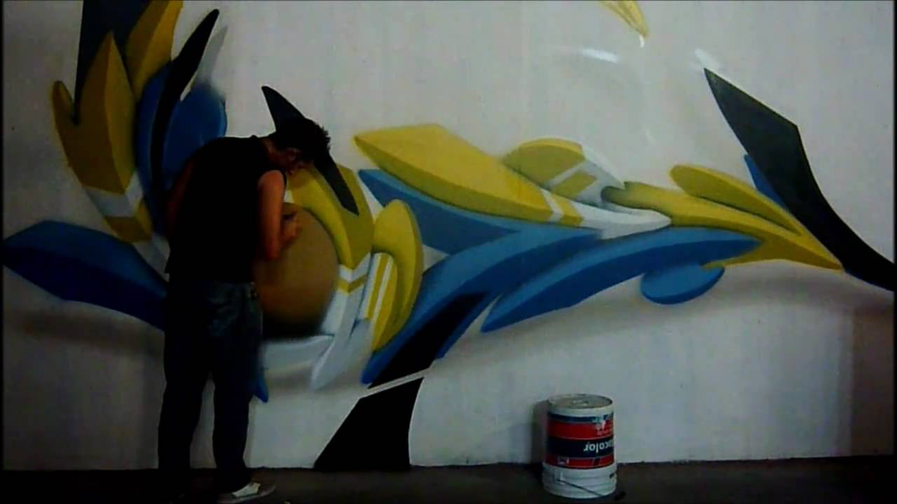 Rebokz 3d Graffiti Bai Crew Youtube