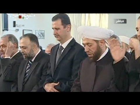 Esed camide; savaş uçakları Humus'ta