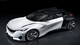 Peugeot Fractal The concept car inspired by all the senses