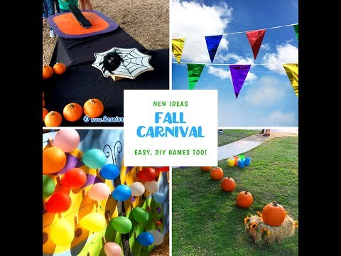 Fall Festival Carnival Game Ideas