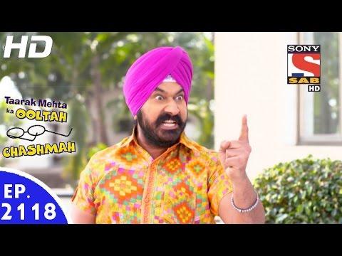 Taarak Mehta Ka Ooltah Chashmah  तारक मेहता  Episode 2118  18th January, 2017
