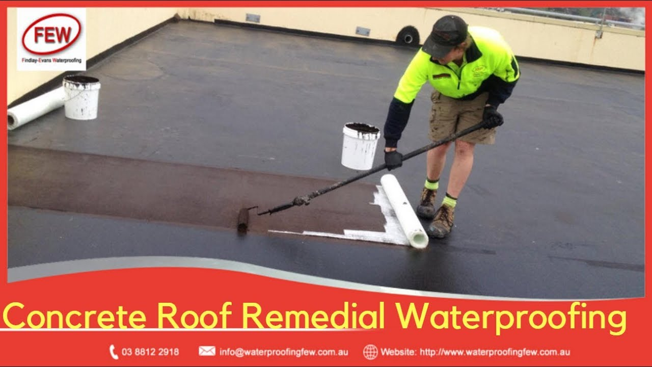 Case Study - Commercial Concrete Roof Remedial Waterproofing