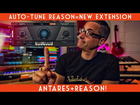 Autotune Reason-New Extension from Antares!