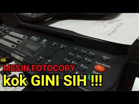 REVIEW Mesin Fotocopy Mini KYOCERA FS-1120MFP - Apakah bisa fotocopy FOLIO F4 ???