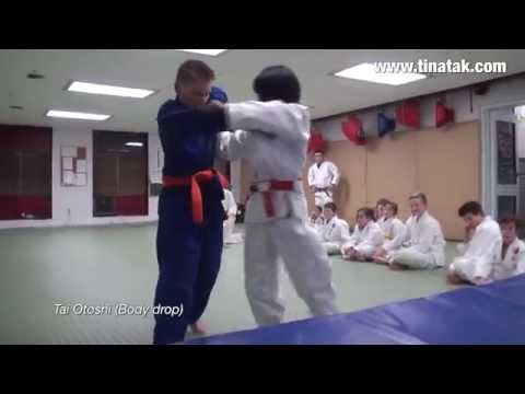 Children's Martial Arts instructional video - Judo -  Tina Takahashi Martial Arts and Fitness