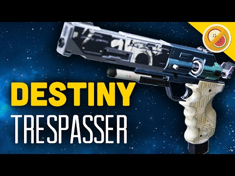 DESTINY Trespasser NEW Exotic Sidearm Review & Gameplay Rise of Iron