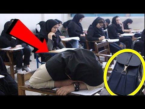 Bu Öğrencinin Kopya Çektiğini Düşünüyorlardı . Ancak Çantasını Açtıklarında Gözyaşlarına Boğuldular