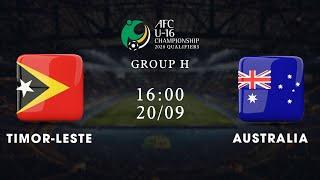 Trực tiếp | Timor-Leste - Australia | Vòng loại U16 châu Á 2020 | NEXT SPORTS