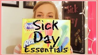 Sick Day Essentials Thumbnail