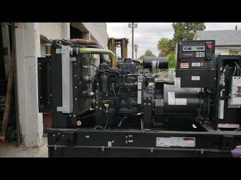 80 KW GENERAC SD80 GENERATOR