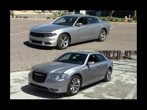 2015 Chrysler 300 vs 2015 Dodge Charger