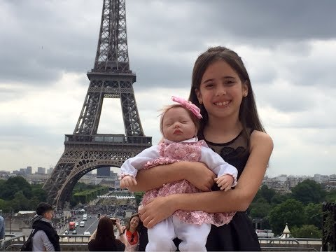 VIAJANDO COM MINHA BEBÊ REBORN LARISSA  *PARIS*