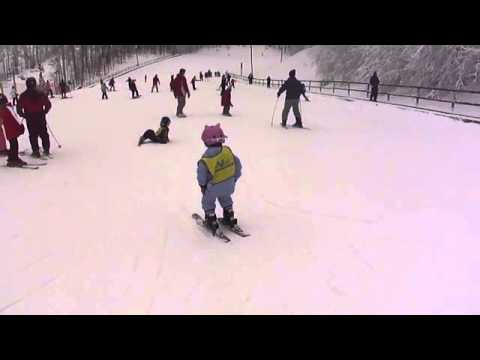 January, 2012 SkiWee Program At Winterplace In Beckley, WV