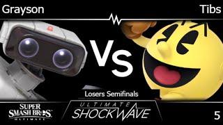 USWO 5 - FRKS | Grayson (ROB) vs HMO | Tibs (Pac-Man) Losers Semifinals - SSBU