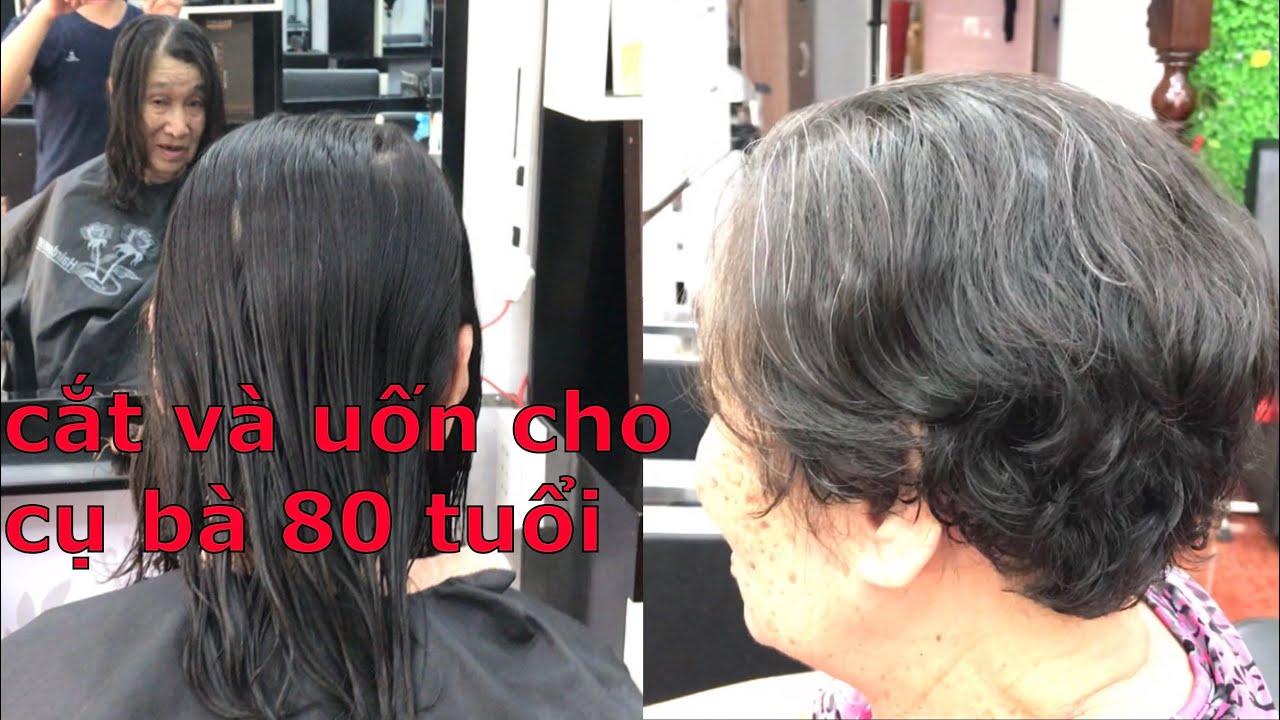 Cắt Tém và uốn cho cụ 80 tuổi – Trung Master | Tổng quát những tài liệu liên quan đến cách cắt tóc tém nữ chi tiết