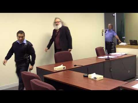 Raw: Randy Quaid at Immigration Canada