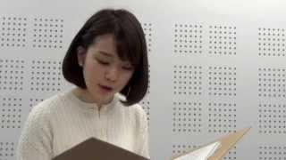 新美南吉さんの代表作を、入社して1年が経とうという新人の弘中綾香ア...