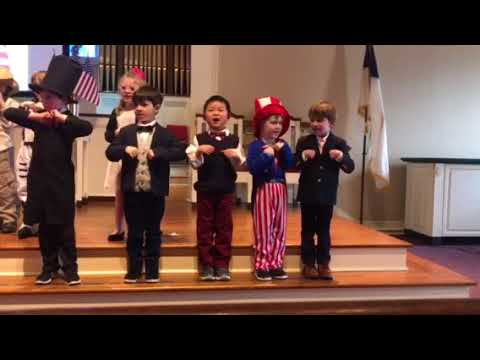 Farmington Presbyterian Day School America Play
