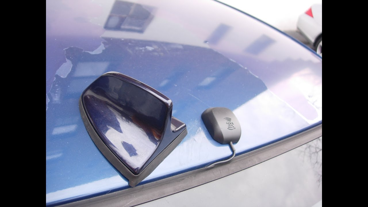 Bmw E46 Shark Fin Antenna Retrofit For Siriusxm Roof