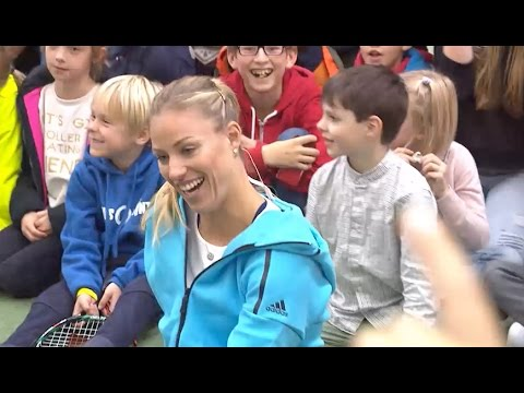 Tennis-Star hautnah: Angelique Kerber beim Meet&Greet in Hamburg