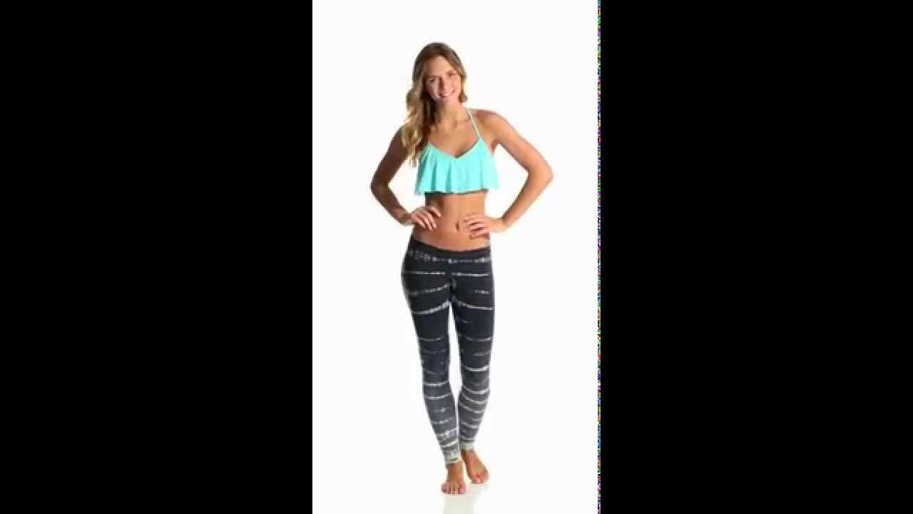 738c782e7bdcfc Jala Clothing Crystal Legging | SwimOutlet.com - YouTube