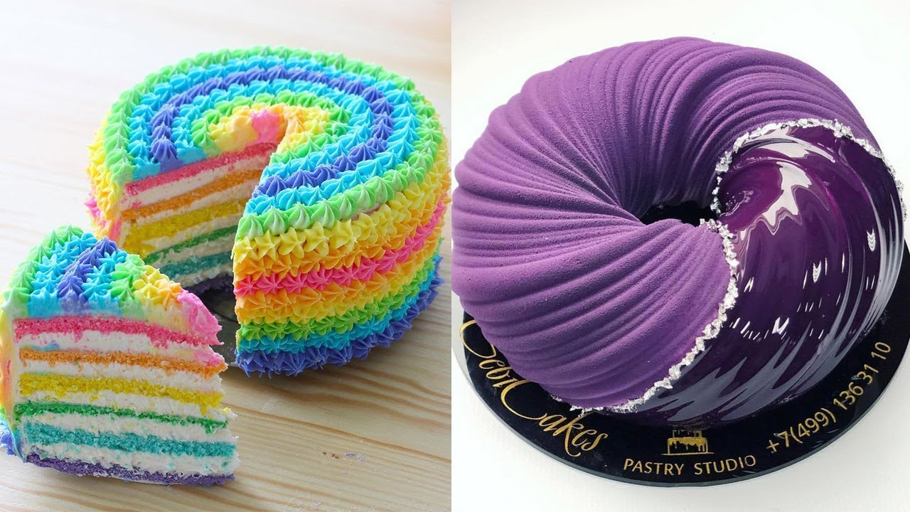 Most Satisfying Cake Decorating Ideas Compilation | Yummy Cake Tutorials & How To Guides