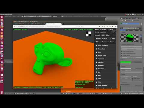 [ita] Blender 2.79 e Blend4web - Bake Ambient Occlusion