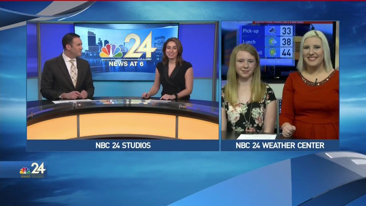 Final Weather with Weather Kid Michaela and Meteorologist Kimberly Newman