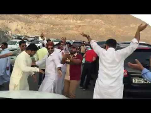 Dance on a famous balochi song da na pa dana.
